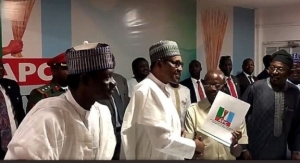 Check Out Buhari's Remarks At The Submission Of His Presidential Nomination Forms